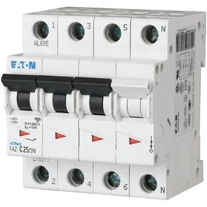 LS-Schalter 12A 3 - polig + N C-Char