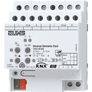 2-fach KNX Universal-Dimmaktor