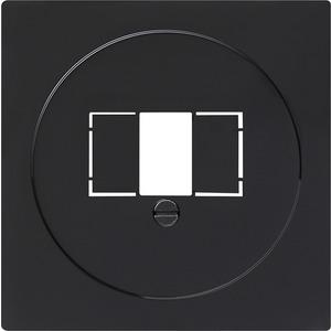 Abdeckung TAE+Stereo+USB für S-Color schwarz