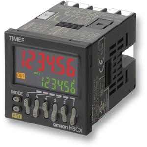VW-Zeitrelais digital 4st. 1 Transistor 12 - 24VDC/VAC 8er Rundsockel