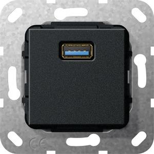 USB 3.0 A Kupplung Einsatz schwarz