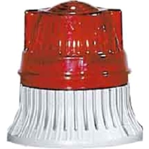 Dauerleuchte 24-40V AC/DC 5W Glühlampe IP54 rot