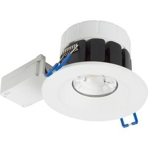 CANVAN Einbaustrahler LED 8W IP65 dimmbar 3CCT 3000K-4000K-6500K weiß