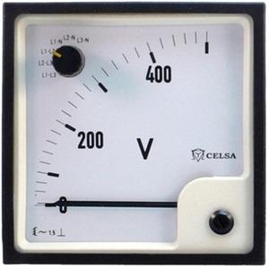 Voltmeter bis 400V AC EQ 72n SWT-6
