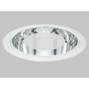 OFFICE 3 weiß Diffusor Polycarbonat opal mit Rand klar