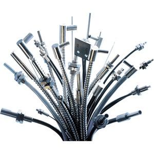 Glasfaser Lichtleiter Silikon Ummantelung Gewindekopf M8 Länge 2M
