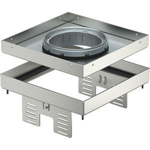 Quadratische Kassette für Tubus 200x200mm V2A