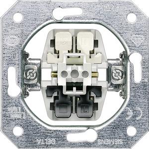 DELTA Taster-Geräteeinsatz UP 1W als Öffner einsetzbar 10A 250V