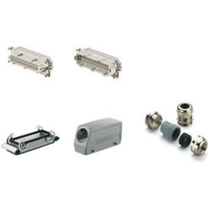Schwere Steckverbinder Baugröße 8 mit Schraubanschluss 500 V 16 A PG