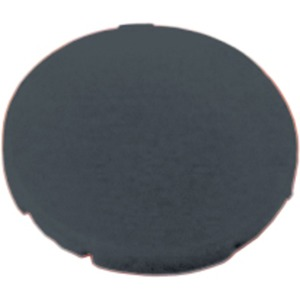 Tastenplatte flach schwarz
