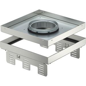 Quadratische Kassette für Tubus 243x243mm V2A