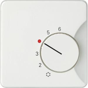 Abdeckung DELTA profil titanweiß für Raumtemperaturr. Öffner/Wechsler