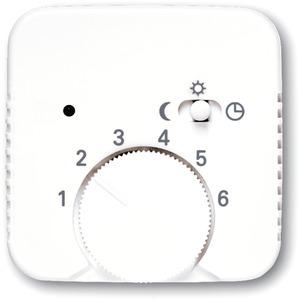 Zentralscheibe für Temperaturregler 1095 U 1096 U 1095 UF alpinweiß