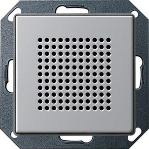 Lautsprecher Unterputz Radio für E22 Aluminium