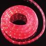 Hellum Lichtschlauch Flexlicht 6 m rot für innen u. außen 216 Brennstellen