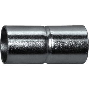 Steckmuffe Außen Ø 22,5mm Stahlrohr 20 verzinkt funktionserhalt