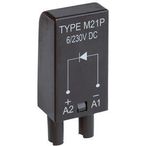 Zubehör Serie RA / RM / RP Steckmodul zu Sockelfassung MODUL M21P