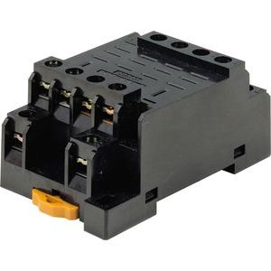 Relaissockel für DIN-Schienen- / Oberflächenmontage für LY4 Schraubkl.