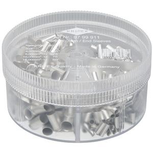 Sortimentsbox mit unisolierten Aderendhülsen