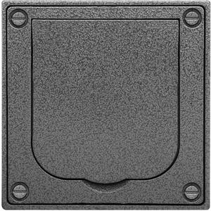 Gehäuse und Sockel Gehäuse UP (Kunststoff) Klappdeckel