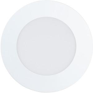 Einbauspot FUEVA-RW LED 5,6W 760lm 2740K Ø120 weiß
