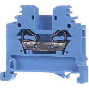 2-Leiter-Durchgangsklemme Ex i geeignet 0,08 - 2,5 mm² blau