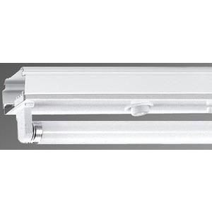 Geräteträger für Lichtbandsystem SDG T8 1/58 EVG standard vw