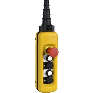 Hängetaster XAC-A 4 Drucktaster 1 Not-Halt/Not-Aus-Taster