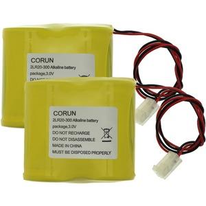 Ersatzbatterie für Funksirene SDR-REXT und 760ES