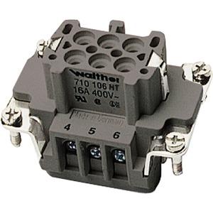 Buchseneinsatz BHT6 0,5 - 2,5mm² 20 - 14AWG