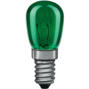 Glühlampe Birnenform 15 Watt E14 Grün