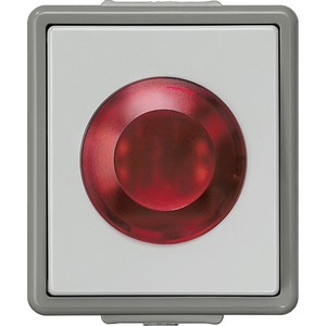 DELTA fläche IP44 AP Lichtsignal 250V mit Glimmlampe