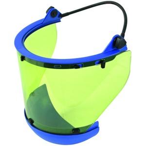 Störlichtbogengeprüfter Schutzschirm mit Spannband und Kinnschutz