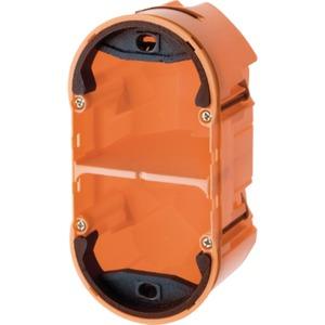 Einbaudose 2fach TS Sensor orange matt