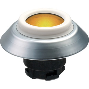 Leuchttaster GELB für Fronteinbau