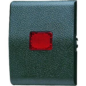 Wippe rotes Lichtaustrittsfenster für Taster BA 1fach