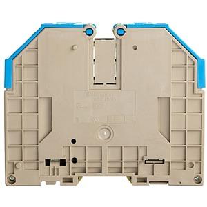 Durchgangs-Reihenklemme mit Schraubanschluss WDU 70/95 BL 95 mm²