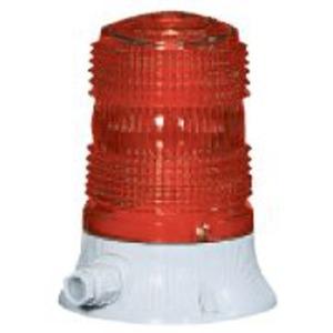 Blinkleuchte rot 24-240 V AC BA15D