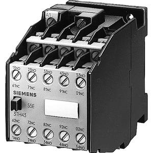 Hilfsschütz 64E 6NO+4NC Flachsteckanschluss AC-Bet. AC110V 60Hz/AC 92V