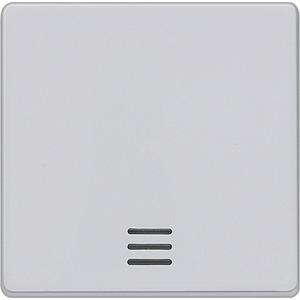 Wippe mit Fenster I-System aluminium f. Kontroll-/Aus-/Wechselschalter
