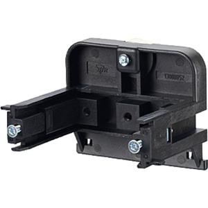Montagehalter für Anschlussdosen Hutschienenbefestigung waagrecht 52mm