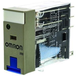 Industrierelais 12 V DC 2W LED + LED + Schaltstellungsanzeige + Prüftaste