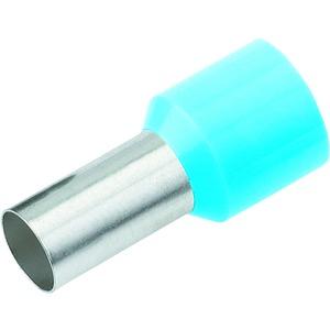 Aderendhülse isoliert 0,25mm²/8mm hellblau DIN 46228