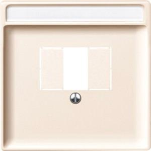 Zentralplatte für TAE/Audio/USB weiß System Fläche