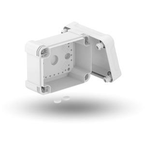 Leergehäuse X 06 151x167x87mm lichtgrau RAL 7035
