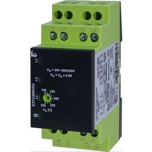 Spannungsüberwachungsrelais E3YU400V02 3-phasig + N 2 Wechsler
