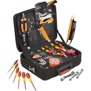 Werkzeugkoffer bestückt (LxB) 48x 17 cm