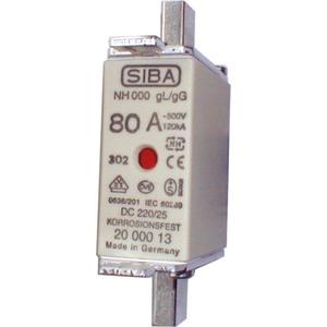 Siba NH-Sicherung gG Gr.000 Typ NH00 100A Kombimelder