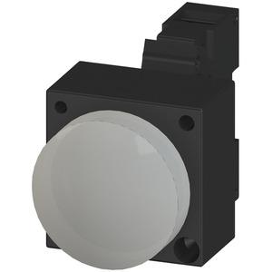 Leuchtmelder 22mm rund Kunststoff mit Halter