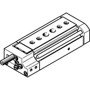 Mini-Schlitten Kugel-Käfig-Führung Baugr. 8 mm / Hub 20 mm P-Dämpf.